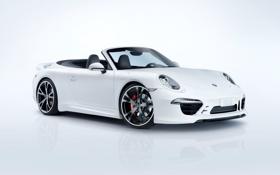 Картинка фон, 911, Porsche, кабриолет, 2012, порше, каррера