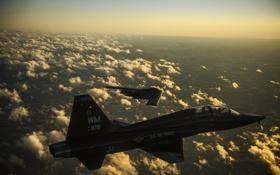 Обои полет, бомбардировщик, самолёт, реактивный, стратегический, двухместный, B-2 Spirit