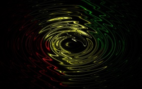 Обои цвета, вода, круги
