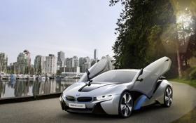 Обои двери, BMW, i8Concept