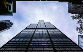 Обои Chicago, Illinois, America, Willis Tower