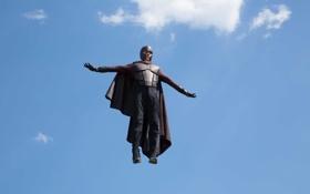 Картинка костюм, фантастика, небо, полет, X-Men: Days of Future Past, Магнето, Magneto