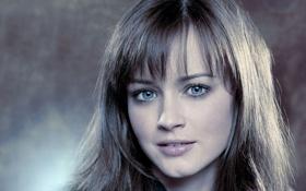 Картинка голубые глаза, очаровательная, Алексис Бледел