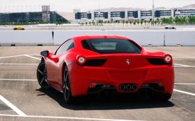 Обои Motor Speedway, 458, Ferrari, Italia, Las Vegas, red, Nevada