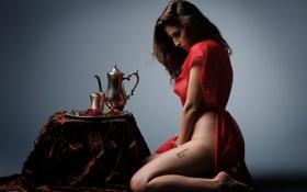 Картинка столик, покорность, сидя, кофейник, автор Marcus J Ranum, Sarah Ellis