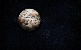 Обои ландшафт, планета, vladstudio, детали