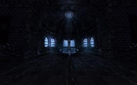 Обои замок, хоррор, мрак, Amnesia
