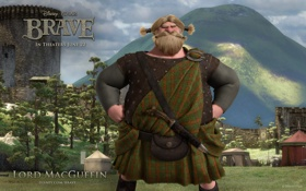 Обои Disney, disney, Brave, brave, lord macguffin, Lord MacGuffin