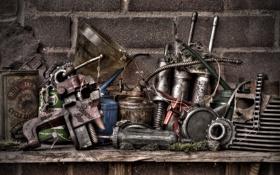 Картинка фон, масло, гараж