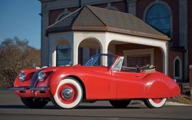 Картинка jaguar, coupe, xk120