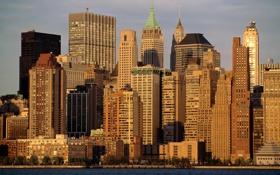 Обои город, new york