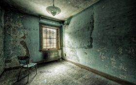 Обои комната, интерьер, стул