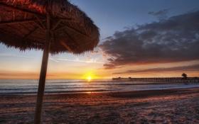 Обои пирсы, океан, фотографии, вода, море, пляжи, песок