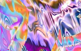 Картинка розовый, абстракции, цвет, картины