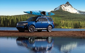 Обои авто, горы, машины, ford, форд, escape