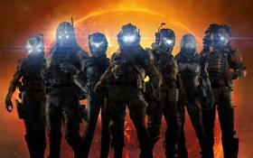 Обои Экипировка, Свет, Electronic Arts, Пилот, Солдат, Огни, Respawn Entertainment