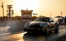 Обои машина, черный, спорт, Porsche, sport, сша, кар