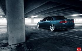 Обои Acura, Wheels, Авто, Vossen, корма, Машина, Auto