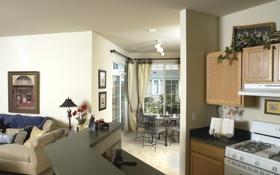 Обои дизайн, дом, стиль, интерьер, коттедж, жилое пространство