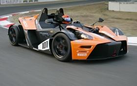 Обои авто, обои, трасса, суперкар, KTM, X-Bow, GT4