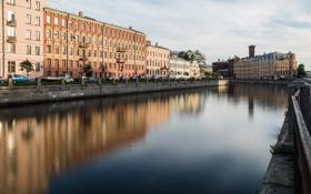 Обои река, канал, питер, спб, петербург, spb, peterburg