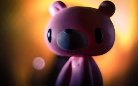 Картинка розовый, гламур, медведь, bear