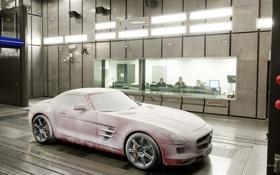 Обои Roadster, Mercedes-Benz, SLS