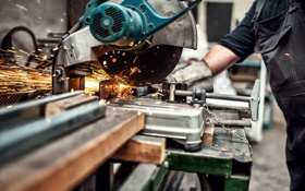 Картинка blade, steel, metallurgical, circular saw