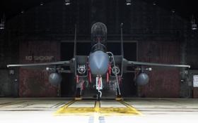 Обои F-15D, истребитель, Eagle, «Игл»