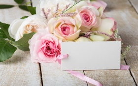 Обои розы, букет, pink, flowers, soft, roses