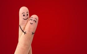 Обои любовь, пальцы, love, romantic, sweet