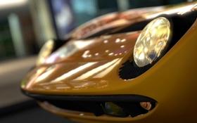 Обои фары, Lamborghini, Gran Turismo 5, Miura, GT5, Bertone, P400