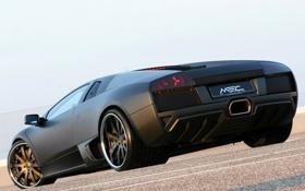 Обои Lamborghini, матовый, ламборджини, Murcielago, задняя часть, мурселаго, Edition