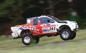 Обои Авто, Спорт, Машина, Скорость, День, Rally, Dakar