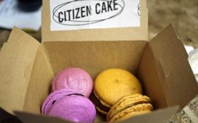 Обои коробка, цветные, печенье, разные, macaroon, макарун