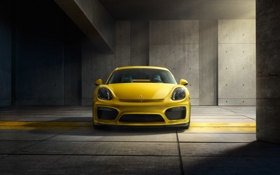 Обои Porsche, Cayman, порше, GT4, 2015, 981C, кайман