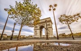 Обои Paris, France, Ile-de-France, Hoche-Friedland