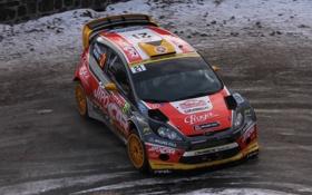 Картинка Ford, Форд, Капот, Занос, WRC, Rally, Ралли