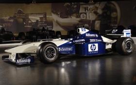 Обои машина, бмв, BMW, формула 1, болид, 2000, Williams
