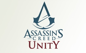 Обои blue, Assasin´s creed, red, Unity