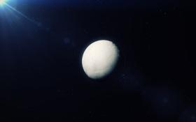 Обои Enceladus, космос, Сатурн