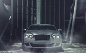 Обои Bentley, Continental, матовый, перед, front, бентли, Matte