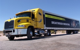 Картинка mack, truck, тягач, фура, трейлерер, грузовик