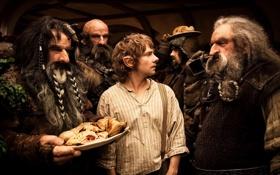 Картинка гномы, The Hobbit, Бильбо Бэггинс, нежданное путишествие