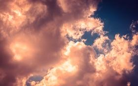 Картинка небо, тучи, Облака, sky