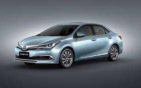 Обои Toyota, Hybrid, тойота, Corolla, 2015, CN-spec, соролла