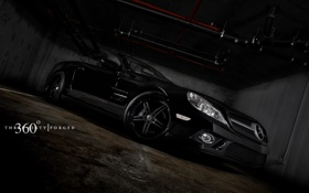 Картинка Mercedes Benz, AMG, SL Black