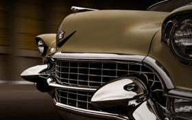 Обои фон, Cadillac, классика, Coupe, передок, кадиллак, 1955