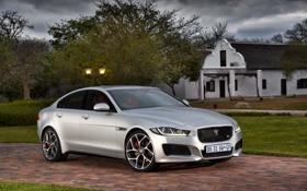 Обои Jaguar, ягуар, 2015, XE S