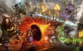 Картинка starcraft, Warcraft, diablo, sarah kerrigan, Thrall, Heroes of the Storm, illidan stormrage
